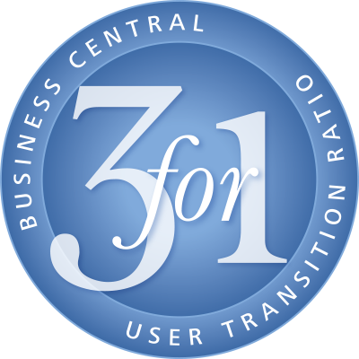 3 for 1 Business Central Conversion