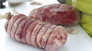 Creminelli Fine Meats bcFood ERP case study Salami binding