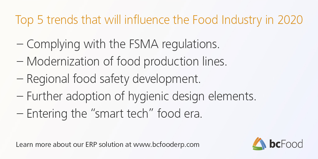 Top Food Industry Trends | bcFood